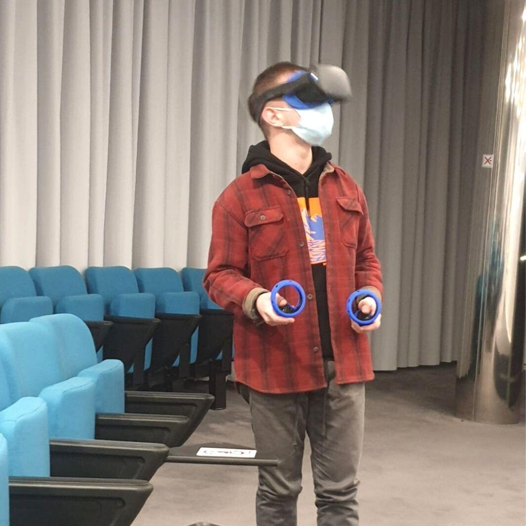 Experiencia con la realidad virtual